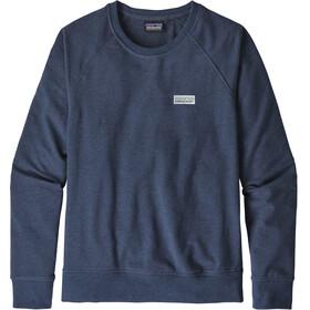 Patagonia Pastel P-6 Label Ahnya mid layer Donna blu